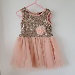 Other - Boutique pink dress size 2T